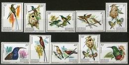 RWANDA 1983  BIRDS MNH - 1980-89: Ongebruikt