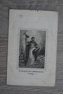 Doodsprentje 1850 Assenede Daelman Litho Compostella - Religion &  Esoterik