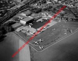 Antwerpen - Luchthaven Deurne  In Oktober 1972- Photo 15x23cm - Luchtfoto - Antwerp Airport - Places