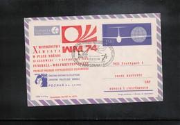 Poland / Polska 1974 World Football Cup Germany Interesting Cover - Fußball-Weltmeisterschaft