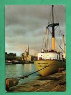 76 Seine Maritime Rouen Cargo Ship Brettenham Mariehamn Suomi Finlande Finland - Cargos