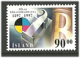 Island Iceland  1997 100 Years Graphic Association.   Mi  874, MNH(**) - Neufs