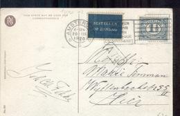 Bestellen Op Zondag - Amsterdam - 1920 - Postal Stationery