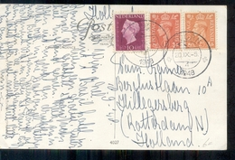 Mengfrankering Nederland - Engeland - 1948 - Doorn - Postal Stationery