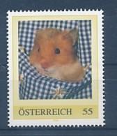 ÖSTERREICH Personalisierte Marke -Hamster - MNH *396* - Nager