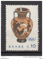 Grèce, Greece, Lutte, Wrestling, Homme Nu, Nude Man, Porcelaine, Poterie, Pottery, Jeux Olympiques, Olympic Games, - Lutte