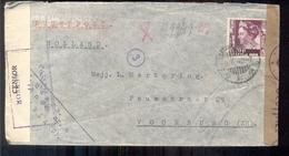 Nederlands Indië - Censuur - Voorburg - 2.6.40 - Luchtpost - Postal Stationery