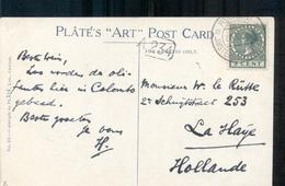 Ceylon Olifanten - Postagentschap Amsterdam-Batavia 20.10.28 - Material Postal