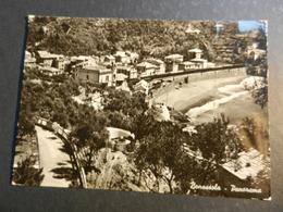 20020) LA SPEZIA BONASSOLA PANORAMA VIAGGIATA 1940 - La Spezia