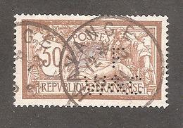 Perforé/perfin/lochung France Merson No 120 F W&C Les Petits Fils De F. De Wendel Et Cie - Perfin