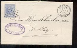 Meppel - H. Boelink - 24 JAN 91 Kleinrond - Den Haag - Postal Stationery