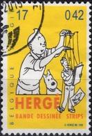 BELGIQUE 2873 (o) TINTIN KUIFJE TIM HERGE Marionnette Pantin Comics Bande Dessinée Strip Cartoon - Comics