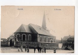 4 - OLNE - L'église - Olne