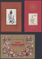 CHINA 1989, Lot Of Souvenir Sheets Mnh + FD - Blocks & Kleinbögen