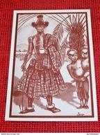 HUMOUR - CONGO BELGE - Types Bakete-Kasaï  - LUC Illustrateur  - Série : Quelques Polichinelles - Congo Belge - Autres