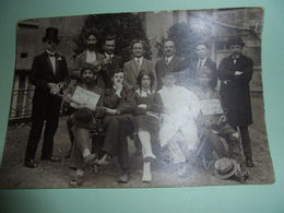 Cpa   Carte Photo Ecole Theatre Eps Poitiers  86 Vienne 1927 - Poitiers