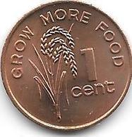 *fiji 1 Cent  1982  Km 39  Unc - Fidji