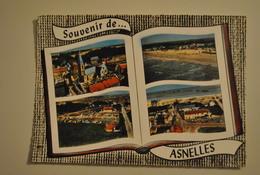 14 Calvados Asnelles Souvenir - Eglise Plage Camping Vue Sur La Mer - Frankrijk