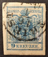 AUSTRIA 1850/54 - TRIEST Cancel - ANK 5 - 9kr - Oblitérés