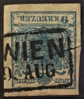 AUSTRIA 1850/54 - WIEN Cancel - ANK 5 - 9kr - 1850-1918 Keizerrijk