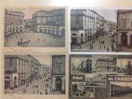 Caserta,........4 Cartoline........ca. 1960 - Caserta