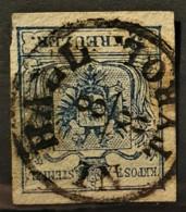 AUSTRIA 1850/54 - HALL IN TYROL Cancel - ANK 5 - 9kr - Usados