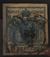 AUSTRIA 1850/54 - GYLLA Cancel - ANK 5 - 9kr - 1850-1918 Imperium