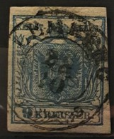 AUSTRIA 1850/54 - LEMBERG Cancel - ANK 5 - 9kr - 1850-1918 Imperium