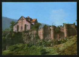 Armenia USSR Stationery Postcard Tumanyan District. 13th Century Akhtala Monastery - Armenia