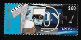 FF65-ARGENTINIEN,ARGENTINA 2019 ZEITUNG LA NACION 150°ANIVERSARY MNH , - Argentina