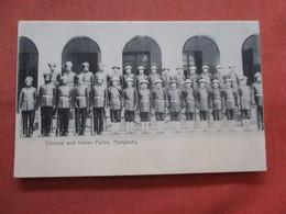 > China (Hong Kong)  Chinese & Indian Police        Ref 3791 - China (Hongkong)