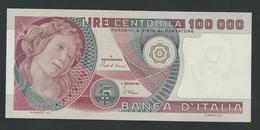 ITALY 100.000 100000 LIRE 1982 PIK- 108 Botticelli UNC - [ 2] 1946-… : Republiek