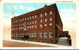 Ohio Zanesville Y M C A Building 1929 Curteich - Zanesville