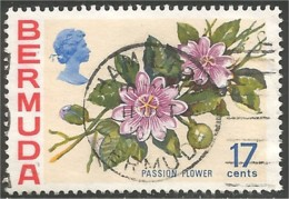 188 Bermuda Fleur Fleur Passion Flower VF CDS (BER-89) - Bermudes