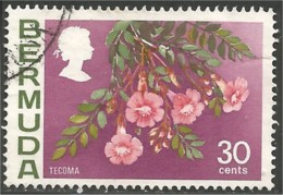 188 Bermuda Fleur Tecoma Flower (BER-90) - Bermudes