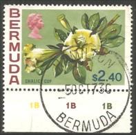 188 Bermuda Fleur Chalic Cup Flower VERY FINE (BER-91) - Bermudes