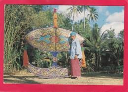 Modern Post Card Of Hand Made Kite,Malaysia,D38. - Malaysia