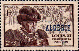 Algérie Poste N** Yv:246 Mi:244 Journée Du Timbre Louis XI - Argelia (1924-1962)