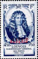 Algérie Poste N** Yv:253 Mi:257 Journée Du Timbre Louvois - Algeria (1924-1962)