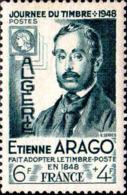 Algérie Poste N** Yv:267 Mi:277 Journée Du Timbre Etienne Arago - Algeria (1924-1962)