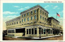 Kansas Manhattan Hotel Gillett Curteich - Manhattan