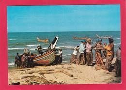 Modern Post Card Of Fisher Men,Malaysia,D38. - Malaysia