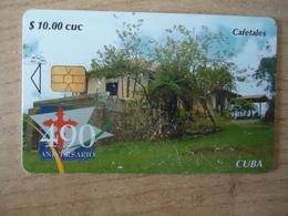 CUBA  USED CARDS  PLANTS  CAFETALES - Cuba