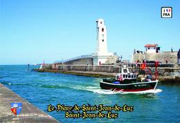 Set 6 Cartes Postales, Phares, Lighthouses Of Europe, France, Saint-Jean-de-Luz, Le Phare De Saint-Jean-de-Luz - Vuurtorens