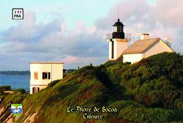 Set 6 Cartes Postales, Phares, Lighthouses Of Europe, France, Ciboure, Le Phare De Socoa - Vuurtorens