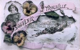 CPA Trouville Souvenir De Trouville - Trouville