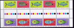 Cocos (Keeling) Islands 2001 Fish Sc 335 Mint Never Hinged Gutter - Cocos (Keeling) Islands
