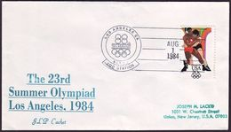 USA - 1984 L - Olympic Games 1984  - Cover - Estate 1984: Los Angeles