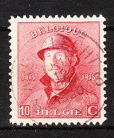 168  Roi Albert Casqué - Bonne Valeur - Oblit. Centrale ANDERLECHT 3 - LOOK!!!! - 1919-1920 Roi Casqué