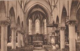 Hansinelle , Hanzinelle ( Florennes )  Souvenir Du Pélerinage à Saint Christophe , Intérieur De L'église St - Christophe - Florennes